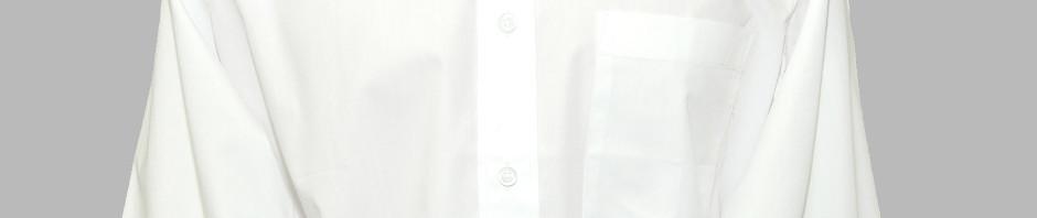 Мужская классическая рубашка белого цвета. Тонкий материал