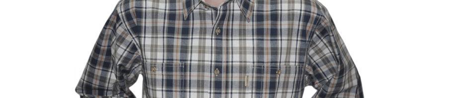 рубашка джинсовая с длинным рукавом