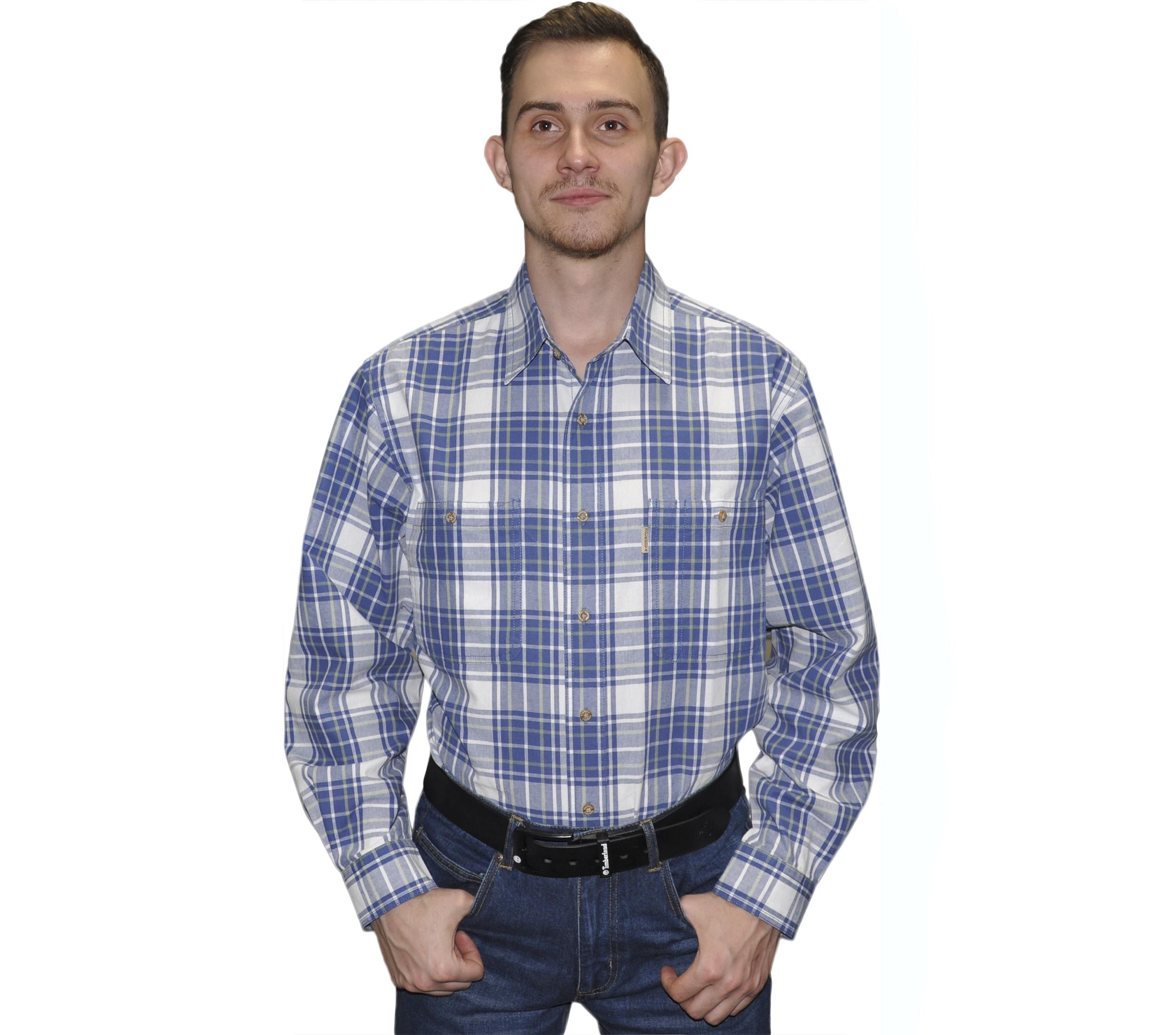 мужские рубашки в крупную